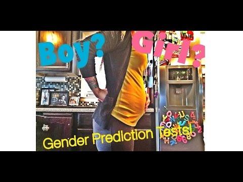 Gender Prediction Tests!