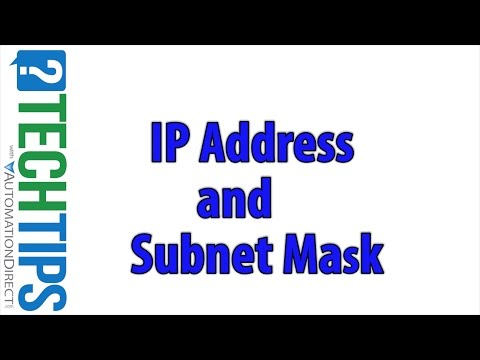 IP Address Basics and Subnet Mask: PLC Networking Basics