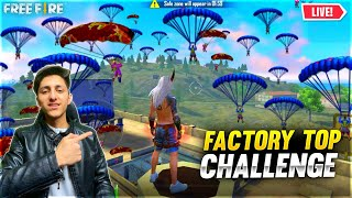 Dj alok Giveaway | Factory Challange 49 Player In Factory Roof Free Fire - Garena Free Fire