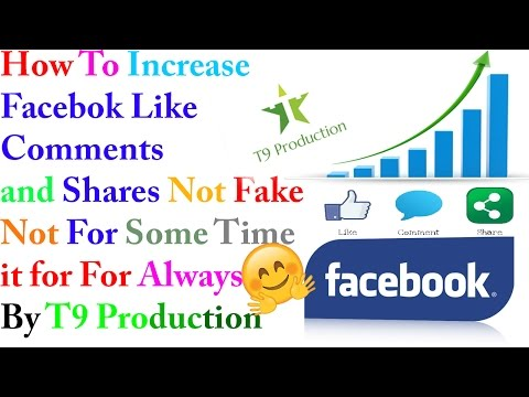 How to Increase Facebook Likes,Comments & Shares With proof Best tutorial work 100%