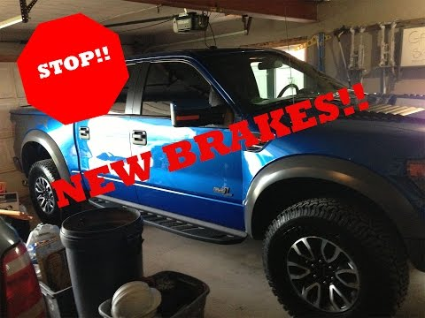 How-To Change Brakes | 2013 Ford F-150 | D.I.Y