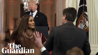 White House accuses CNN's Jim Acosta of