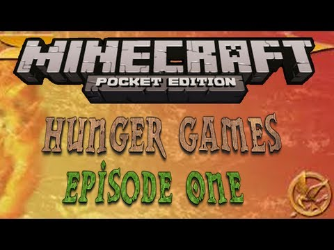 Minecraft PE - Hunger Games Ep.1 w/ Friends