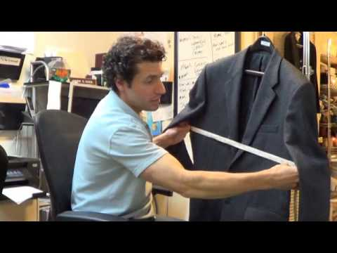 ClosetM's How We Measure Blazers and Suit Jackets