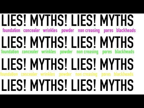 THE LIES AND MYTHS MAKE UP COMPANIES TELL US!