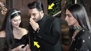 Deepika Gets Jealous Of Ranveer | Ranveer Buzy With Other Leady At Priyanaka and Nick Reception