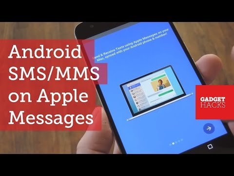 Send Android SMS & MMS Using Apple Messages on Your Mac [How-To]