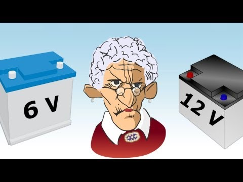 DIY 6 Volt and 12 Volt Battery Myth, Old Wives Tale Debunked - Pirate Lifestyle TV ™ Quickie 083