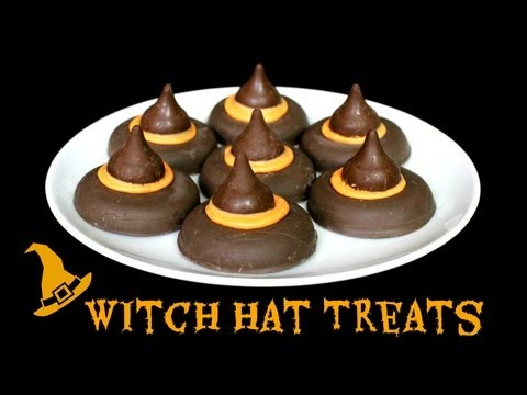 HOW TO MAKE HALLOWEEN WITCH HAT TREATS