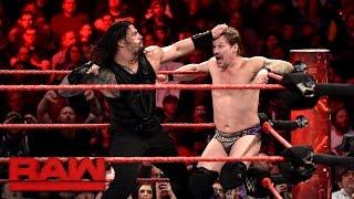 Roman Reigns vs. Chris Jericho - United States Championship Match: Raw, Jan. 23, 2017