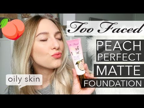 TOO FACED PEACH PERFECT FOUNDATION [first impressions]