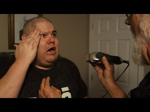 GRANDPA SHAVED OFF MY EYEBROWS!!