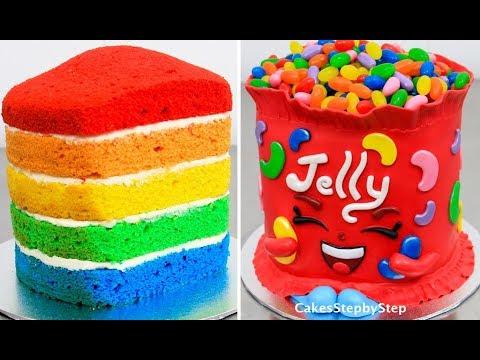 SHOPKINS CAKE Jelly B - How To Make a Cute Shopkin Kawaii Cake by Cakes StepbyStep