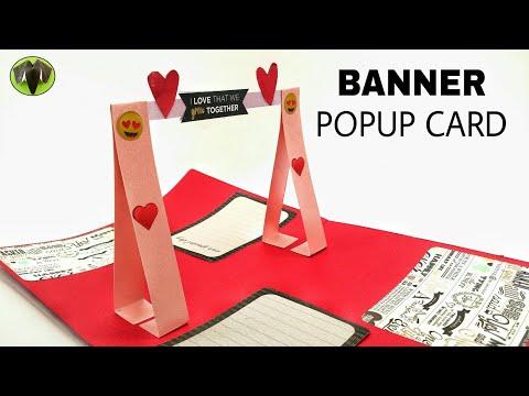 Banner Popup card - DIY Tutorial - 911