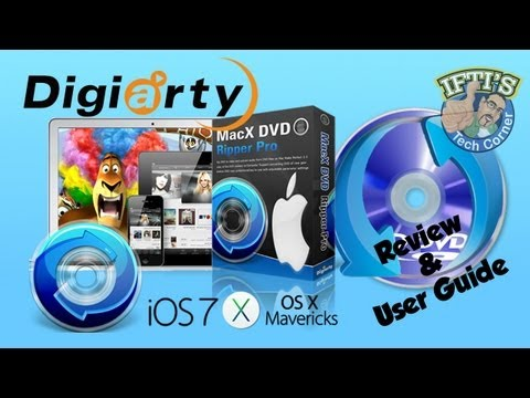 How to Rip DVD Movies to your computer! - MACXDVD Ripper Pro