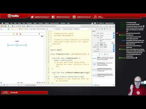 Building iOS Apps in Swift and C# using Xcode and Xamarin - March 16, 2016 Twitch Stream