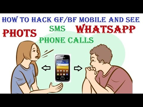 How to see your gf / bf mobile | See Photo/Sms/Phone calls/Whatsapp/Phone gallery/Call logs/Facebook