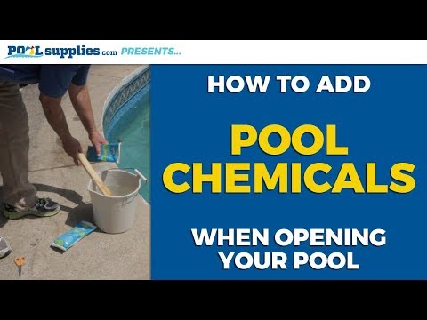 How To Add Pool Chemicals When Opening Your Swimming Pool | PoolSupplies.com