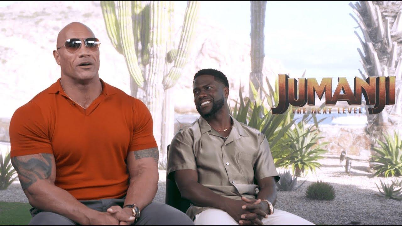 Entrevista The Rock em Jumanji - Próxima Fase