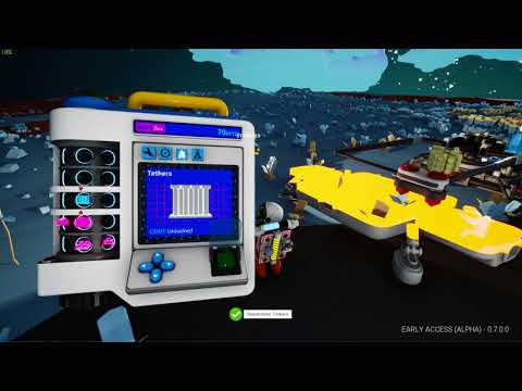 ASTRONEER  gameplay.....Not happy with the new updates :(