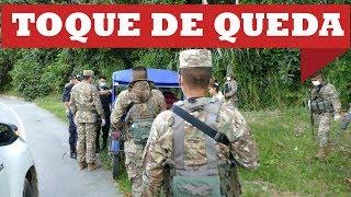 DOMINGO DE TOQUE DE QUEDA EN TOCACHE