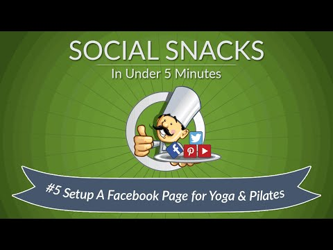 How to Change Your Facebook Page Category to Yoga and Pilates
