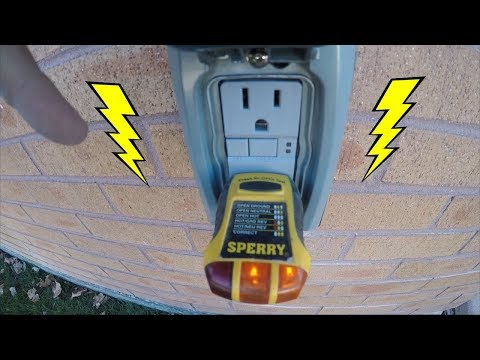 How To Install A Weather Proof Outlet On A Brick House | THE HANDYMAN