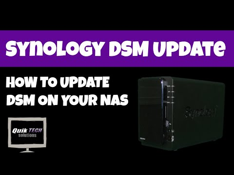 How To Update DSM On A Synology NAS