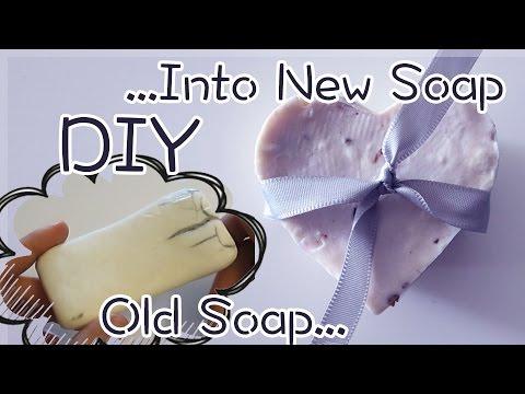 DIY Soap bar using Old Bar Soap | Sunny DIY