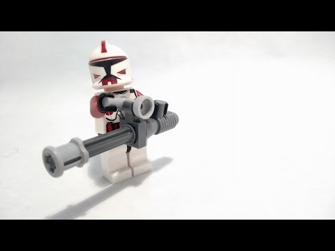 Lego custom weapons (tutorial)