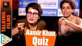 Fatima Shaikh & Sanya Malhotra talk Aamir, Dangal   Quiz   How Well Do They Know Mr Perfectionist