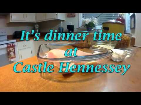 June 8, 2018 Vlog #114 Cooking at Castle Hennessey Ep. 3