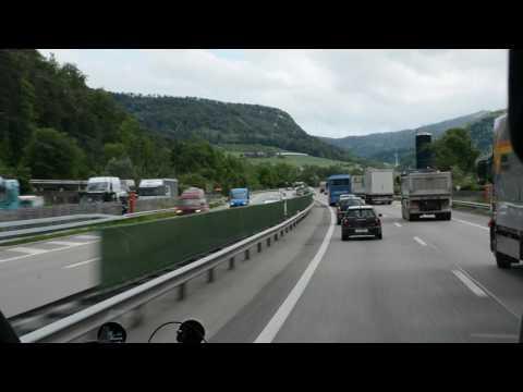 Paris to Engelberg Bus ride (Switzerland Area) Part 1