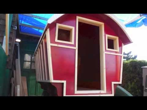 Spruce Kaboose (gypsy wagon # 2) Part one