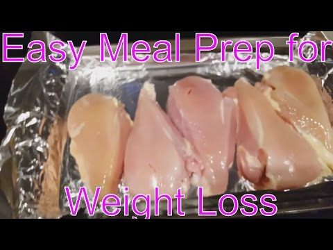 Easiest Meal Prep for Weight Loss