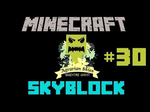 Minecraft: Agrarian Skies #30 - Czy wyspa spadnie?