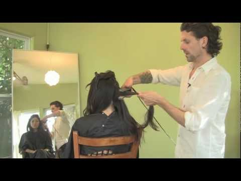 How To Curl Hair with a Flat Iron, Sexy Curls Tutorial by Hollywood Stylist, Curt Darling