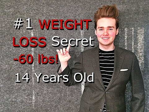 #1 WEIGHT LOSS Secret   TEEN INSPIRATIONAL Journey   -60 lbs 14 Years Old