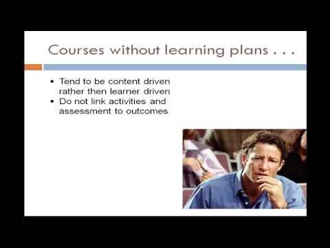 What is a Learning Plan?