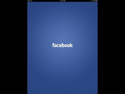 How To Get The Hidden Facebook For iPad From Inside The iPhone App - UIDeviceFamily