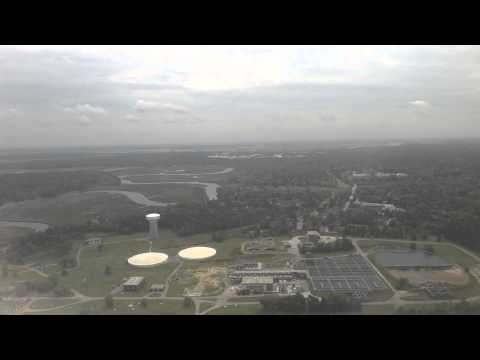 Landing in CHS Charleston International Airport