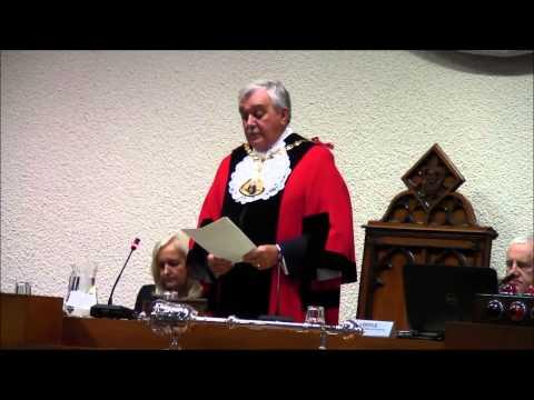 Mayor making ceremony 28 May 2014