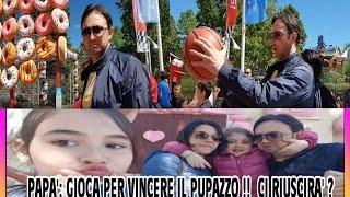 PAPA' : RIUSCIRA' A VINCERE UN PUPAZZO A MIRABILANDIA ?  by Marghe Giulia Kawaii