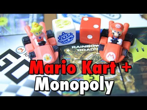 Mario Kart + Monopoly! | Board Game Overview