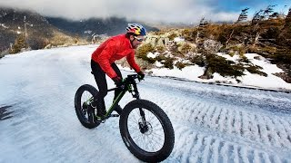 Tim Johnson's Historic Fat Bike Winter Ascent