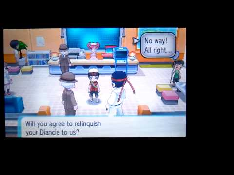 Getting Diancie mega stone in alpha sapphire