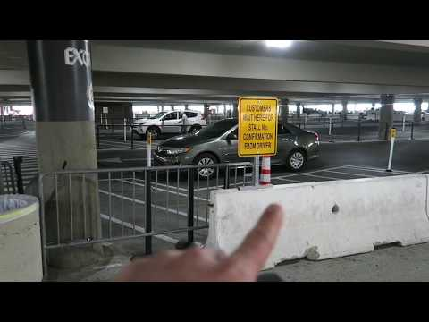Uber & Lyft Las Vegas: Terminal 1 Pickup Point at McCarran International Airport