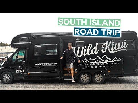 NEW ZEALAND SOUTH ISLAND ROAD TRIP   Christchurch to Franz Josef   Wild Kiwi