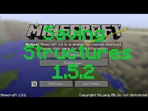 Minecraft Mod - Saving Structures in 1.5.2
