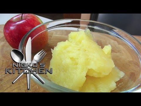 Apple Puree - Baby Food Recipe